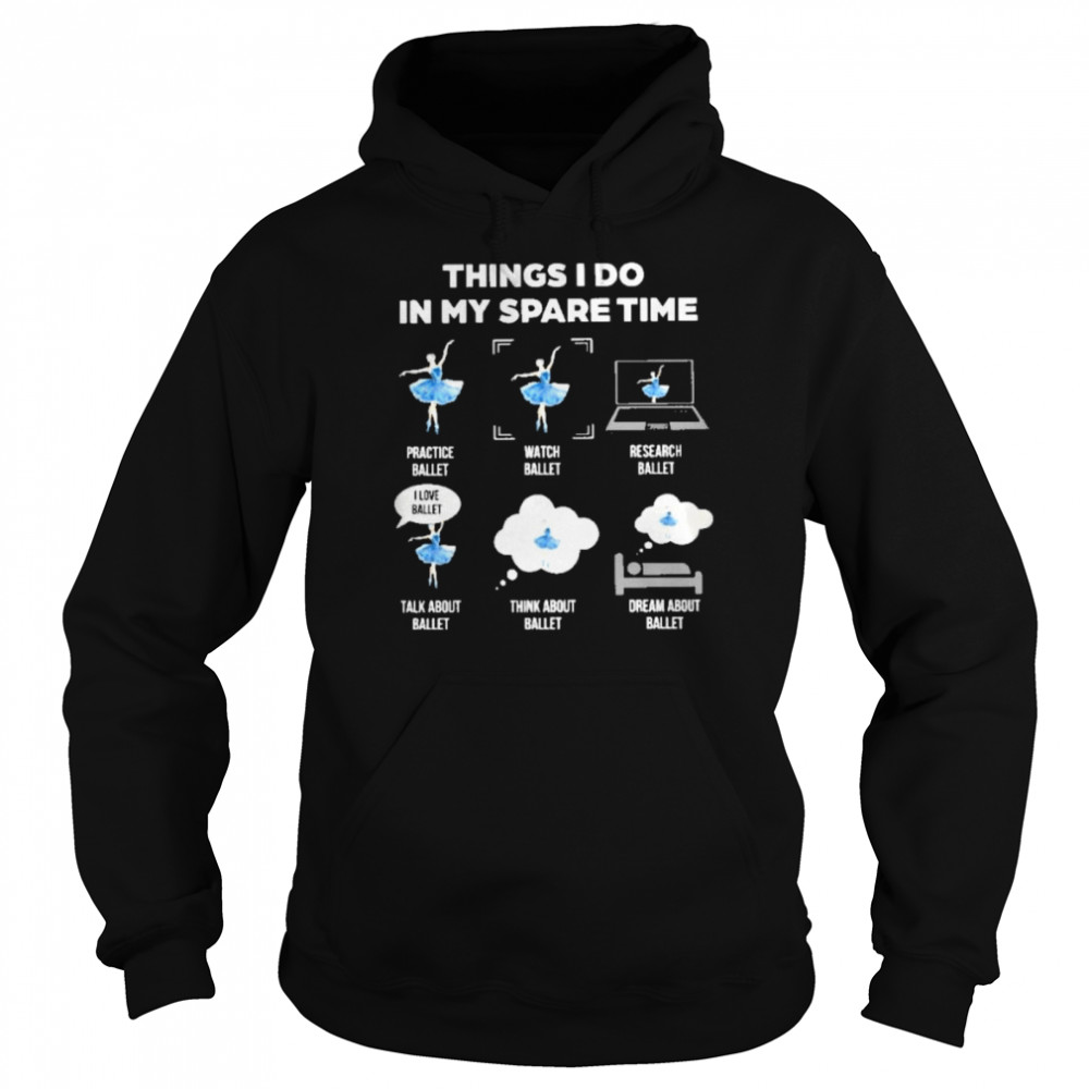 Things I do in my spare time  Unisex Hoodie