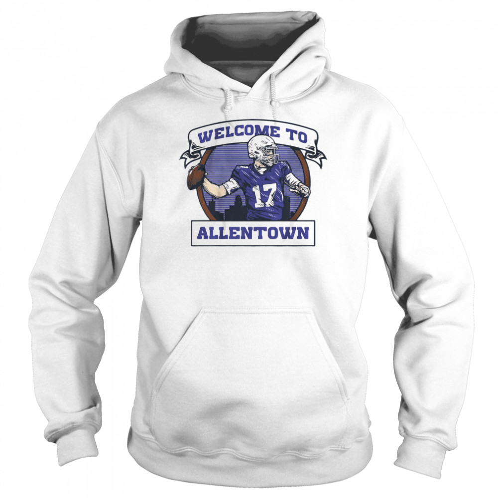Welcome to Allentown  Unisex Hoodie