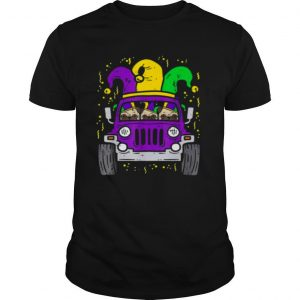 Jeep mardi gras shirt
