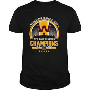The Washington Football Team Nfc East Division Champions 2020 shirt