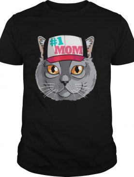 Chartreux Cat #1 Mom Mother's Day Shirt