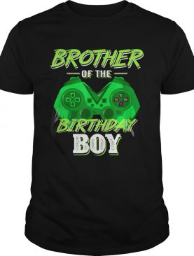 Brother of the Birthday Boy Video Game Family Matching shirt